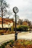 clock in city park - 84276831