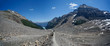Plain of Six Glaciers Trail at Lake Louise in Banff National Par