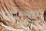 Horseshoe Canyon Pictographs, Canyonlands National Park, UT poster