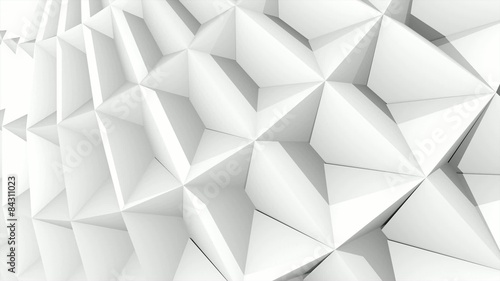3D ANIMATED BACKGROUND - DECORATIVE - WHITE PAPER
