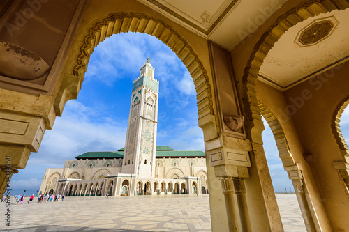 Poster Mosque in Casablanca