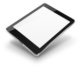 Fototapety Tablet computer with blank screen.