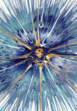 Abstract expressionism painting - Cassiopeia