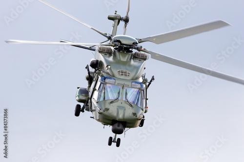 obraz lub plakat Military transport helicopter take off