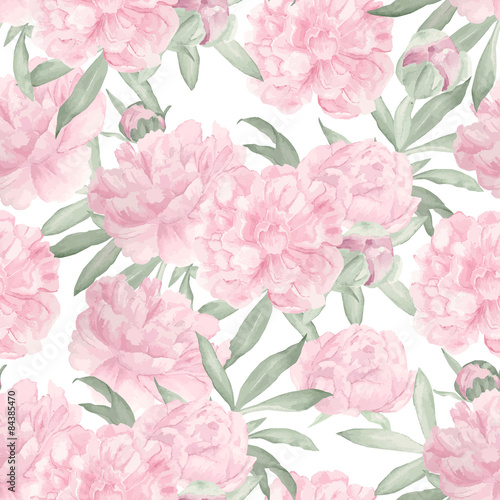 Seamless floral pattern - 84385470