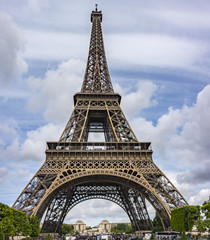 Eiffel Tower HDR Pano © terryleewhite