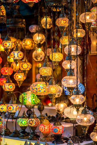 Poster Egypte Turkish lamps