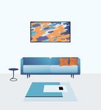 Modern living room - 84399277
