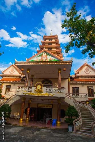 Foto op Plexiglas Japan Buddhist temple .Vietnam.Da Nang