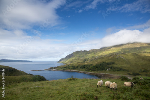 The Bay of Pledges, Ardnamurchan, Scotland. Poster