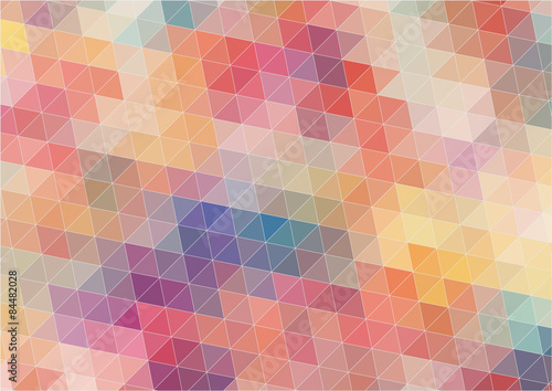 Fotobehang Geometrische Achtergrond Abstract Two-dimensional colorful background