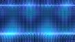dot blue light