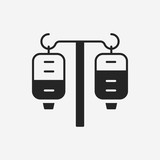 medical drip icon