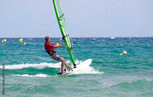 obraz lub plakat Nastolatka surft