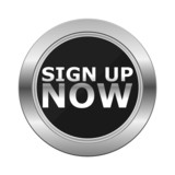 Sign Up Now Silver Button