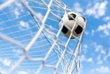 Fototapety Soccer, Goal, Soccer Ball.