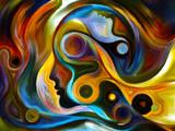 Fototapety Perspectives of Inner Paint