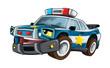Cartoon police - caricature