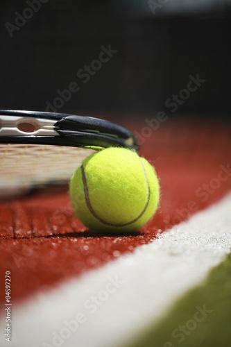 Tennis, Court, Tennis Ball. Poster
