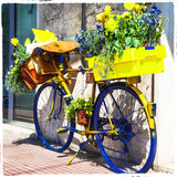 Bicycle of postman -charming street decoration - 84615896