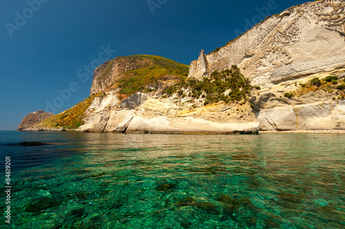 Deurstickers Cathedral Cove Ponza La Cattedrale