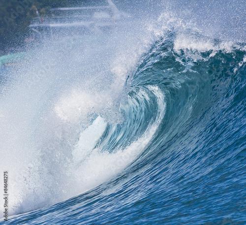Ocean Blue Wave - 84648275