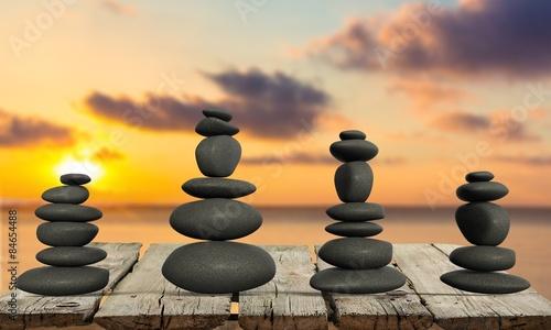 Miracle, Stone, Balance.