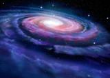 Spiral galaxy, illustration of Milky Way © Alexandr Mitiuc