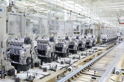 Manufactoring Engine Poster