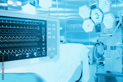 Monitoring of patient in surgical operating room