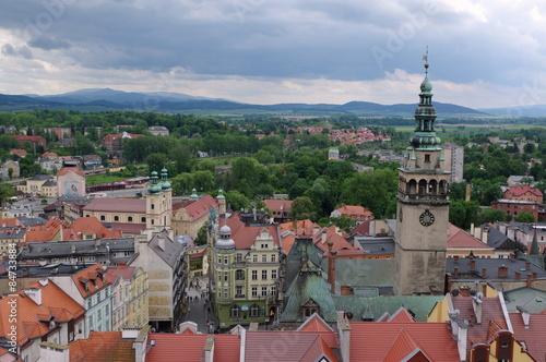 kłodzko - panorama miasta
