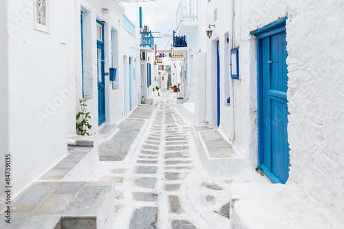 Fototapeta Mykonos streetview, Greece