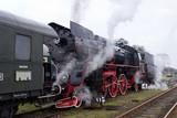 Fototapeta lokomotywa parowa Wolsztyn