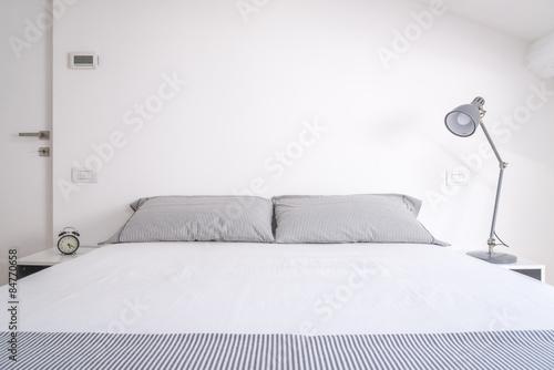 white bedroom Poster