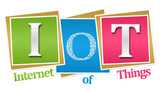 IoT - Internet Of Things Colorful Blocks  poster