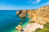 Fototapety Praia da Marinha - Beautiful Beach Marinha in Algarve, Portugal