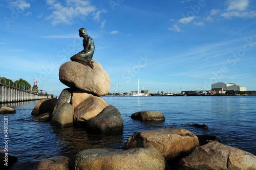 Póster Kleine Meerjungfrau Kopenhagen