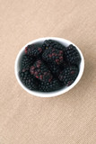A bowl of blackberries - 84819464