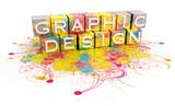 grafický design koncepce izolované