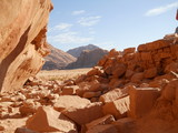 Fototapeta petra desert