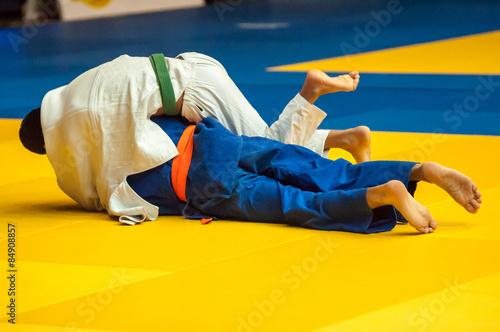 fototapeta na ścianę Judo konkurencja młodzieży