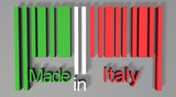 3D barcode made in Italy