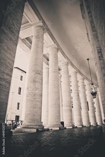Fototapeta Columns in Vatican