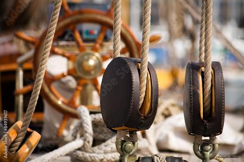 Keuken foto achterwand Schip Old sailing boat