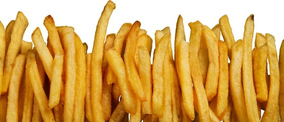 French Fries, Fast Food French Fries, Fast Food.