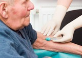 Elderly Man on Anticoagulant Treatment