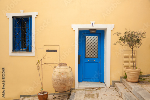 Traditional house in Plaka,Athens, Greece