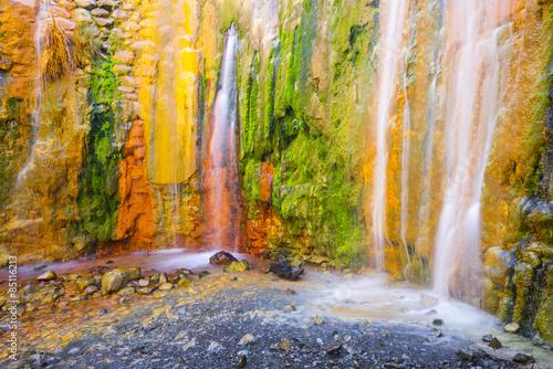 Fototapeta Cascada de Colores, Caldera de Taburiente, La Palma (España)