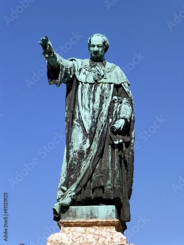 Leinwanddruck Bild Maximiliansbrunnen in Bamberg