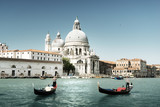 Fototapeta Grand Canal and Basilica Santa Maria della Salute, Venice, Italy